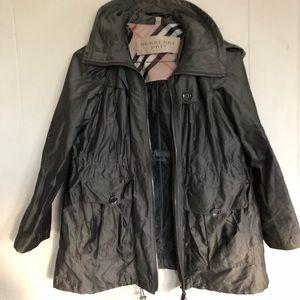 Auth Burberry Women's Coat Sz 10